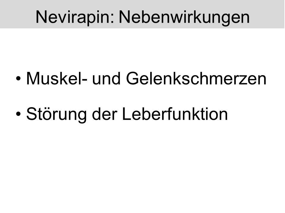 Nevirapin: Nebenwirkungen