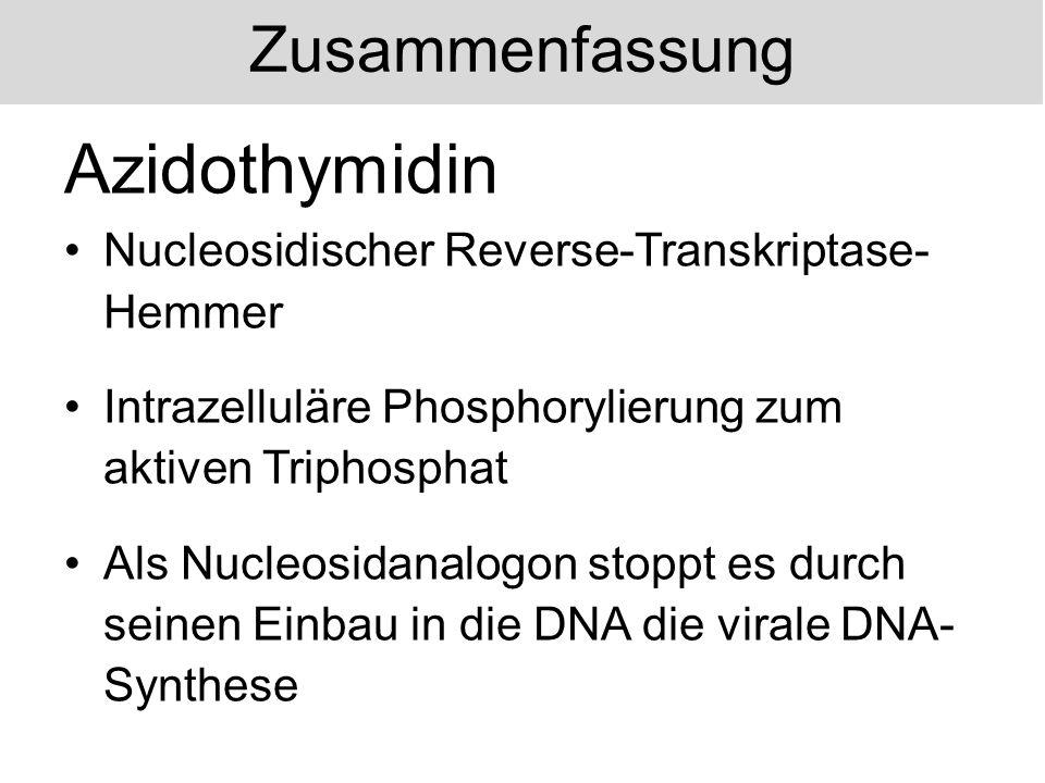 Azidothymidin Zusammenfassung
