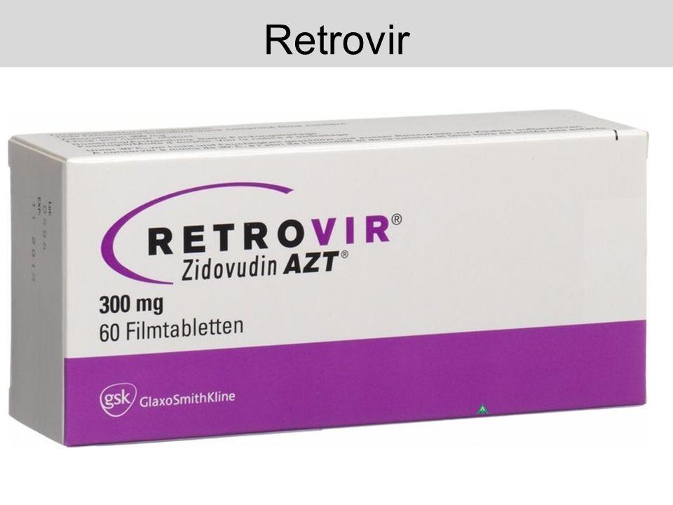 Retrovir erste bewährte medikamentöse Therapie für HIV und AIDS