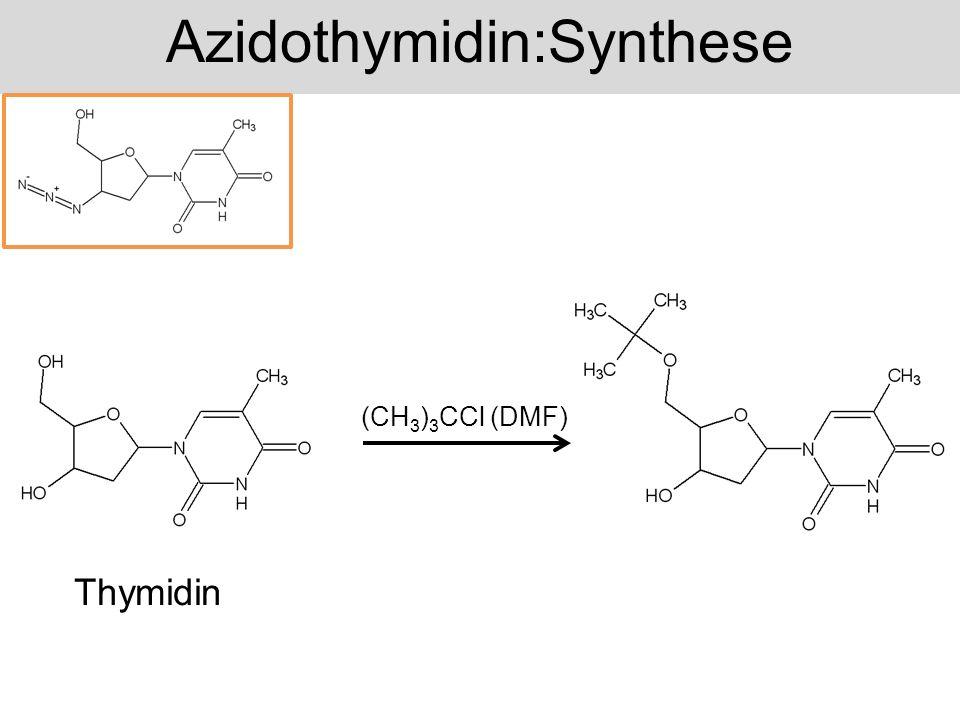 Azidothymidin:Synthese