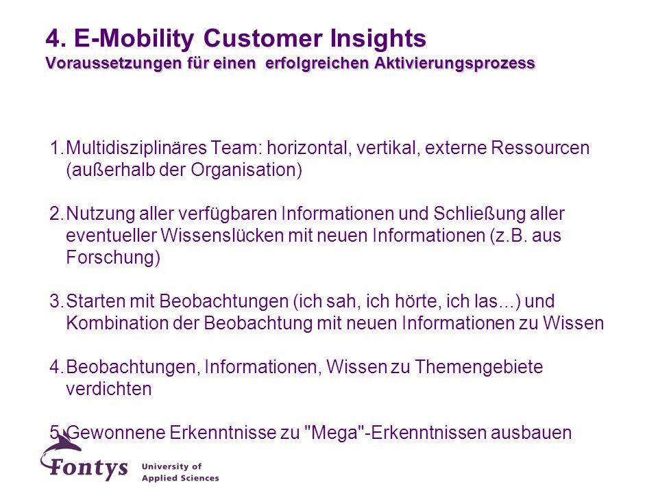 28-3-2017 4. E-Mobility Customer Insights Voraussetzungen für einen erfolgreichen Aktivierungsprozess.