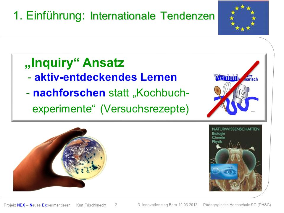 1. Einführung: Internationale Tendenzen