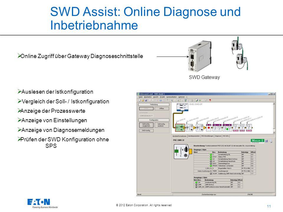 SWD Assist: Online Diagnose und Inbetriebnahme