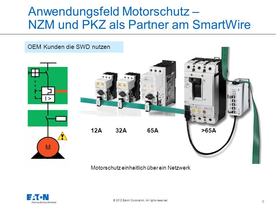 Anwendungsfeld Motorschutz – NZM und PKZ als Partner am SmartWire