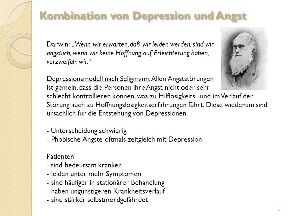 Kombination von Depression und Angst