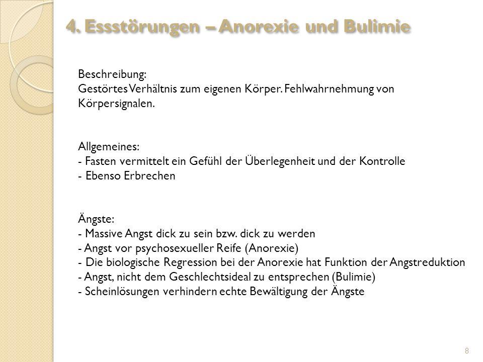 4. Essstörungen – Anorexie und Bulimie