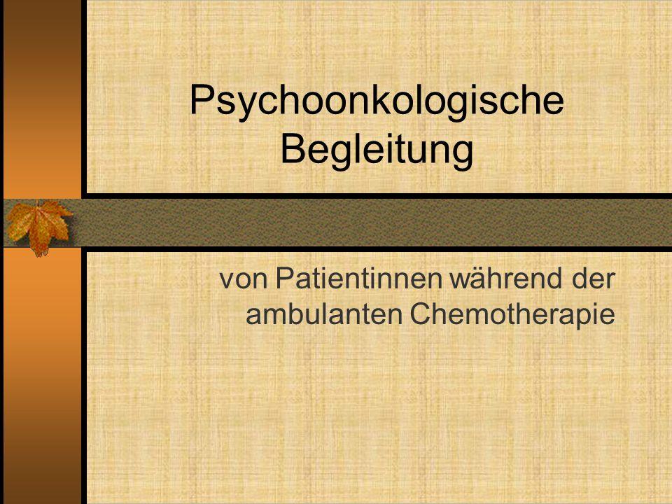 Psychoonkologische Begleitung