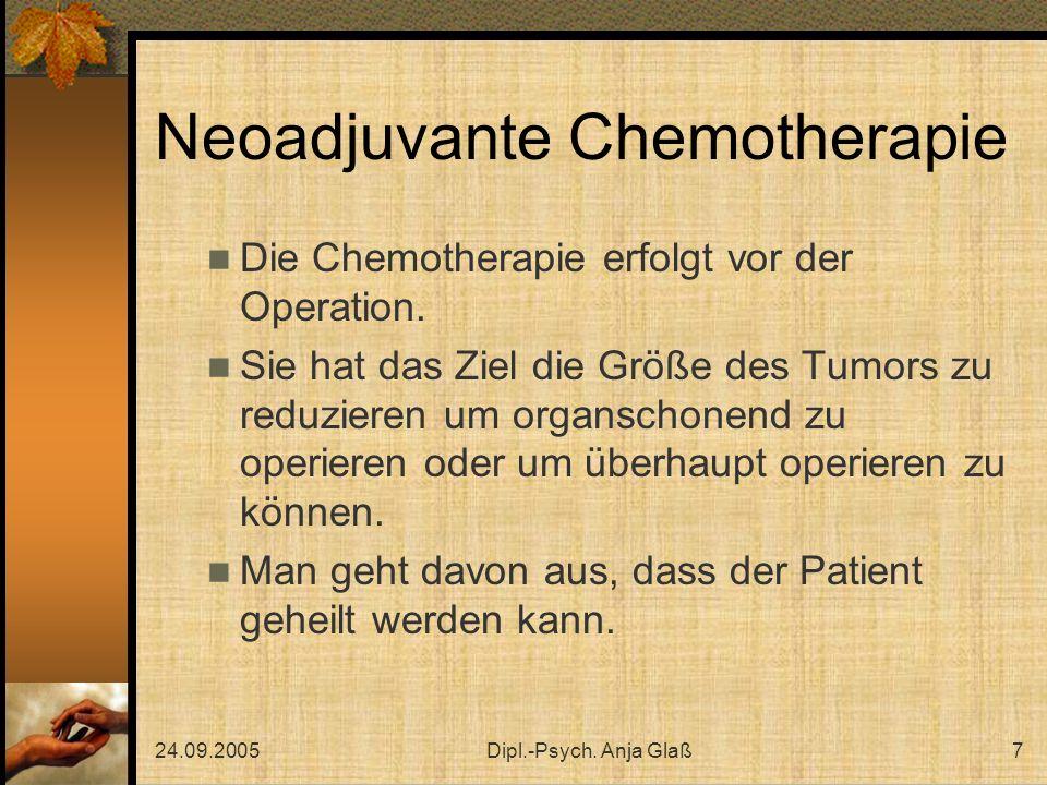 Neoadjuvante Chemotherapie