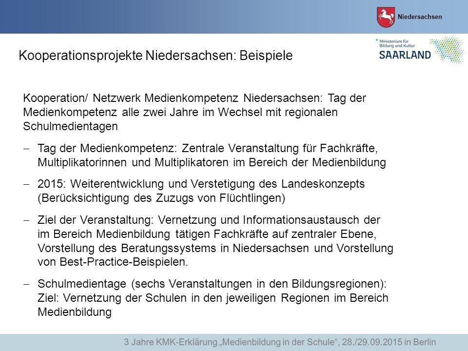 Kooperationsprojekte Niedersachsen: Beispiele