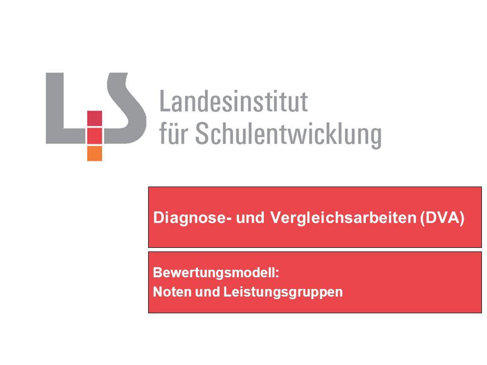 Diagnose- und Vergleichsarbeiten (DVA)