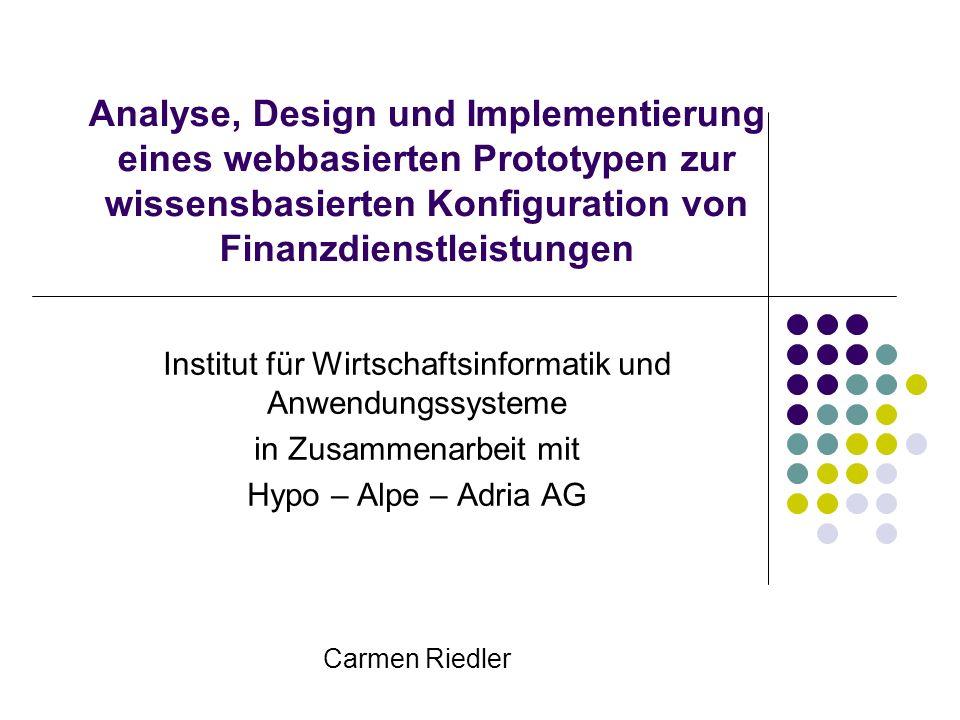 Institut für Wirtschaftsinformatik und Anwendungssysteme