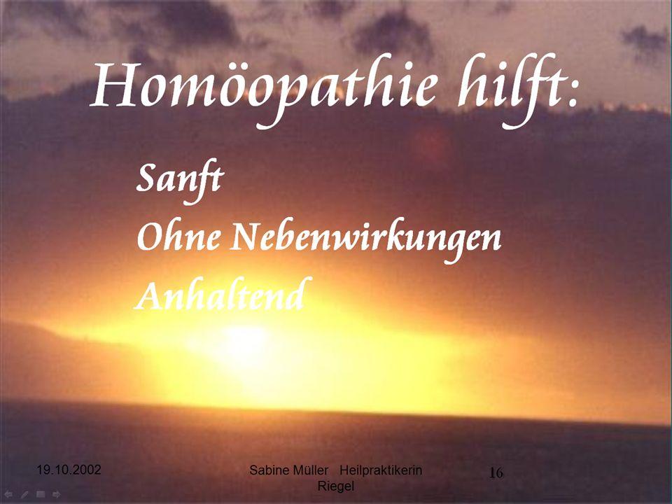 Sabine Müller Heilpraktikerin Riegel