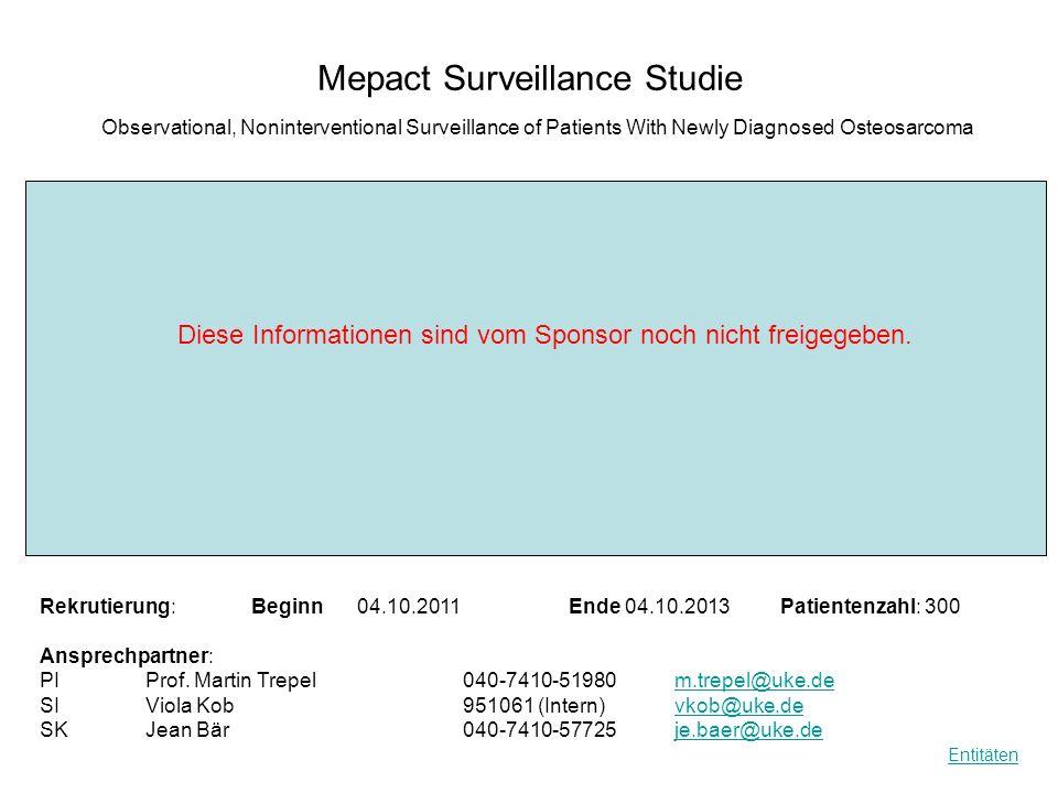 Mepact Surveillance Studie