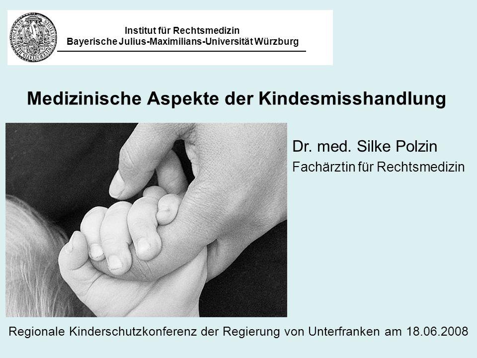 Medizinische Aspekte der Kindesmisshandlung