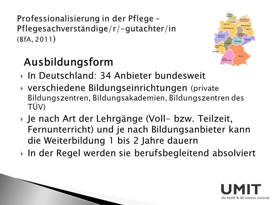 Ausbildungsform In Deutschland: 34 Anbieter bundesweit