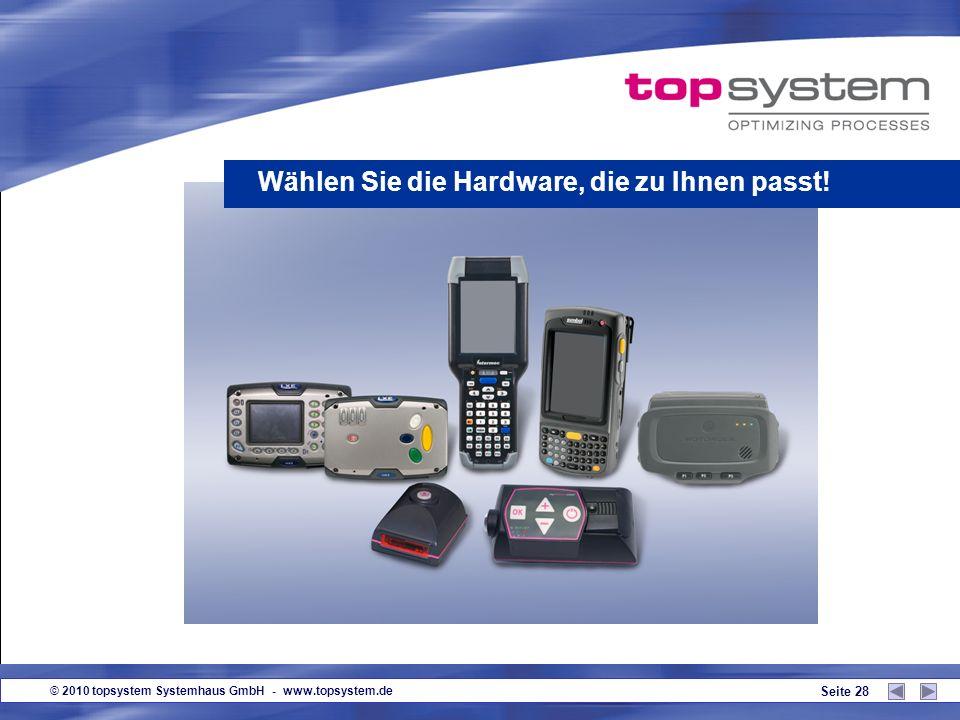 Wählen Sie die Hardware, die zu Ihnen passt!
