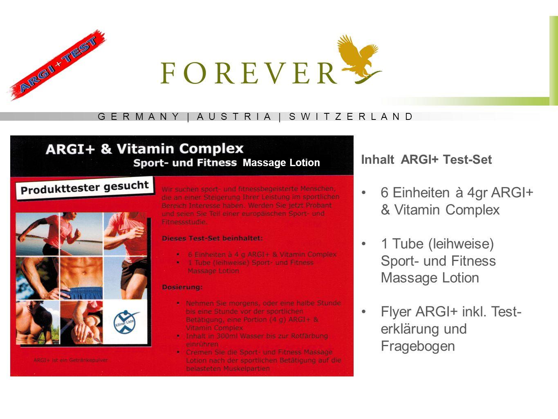 6 Einheiten à 4gr ARGI+ & Vitamin Complex