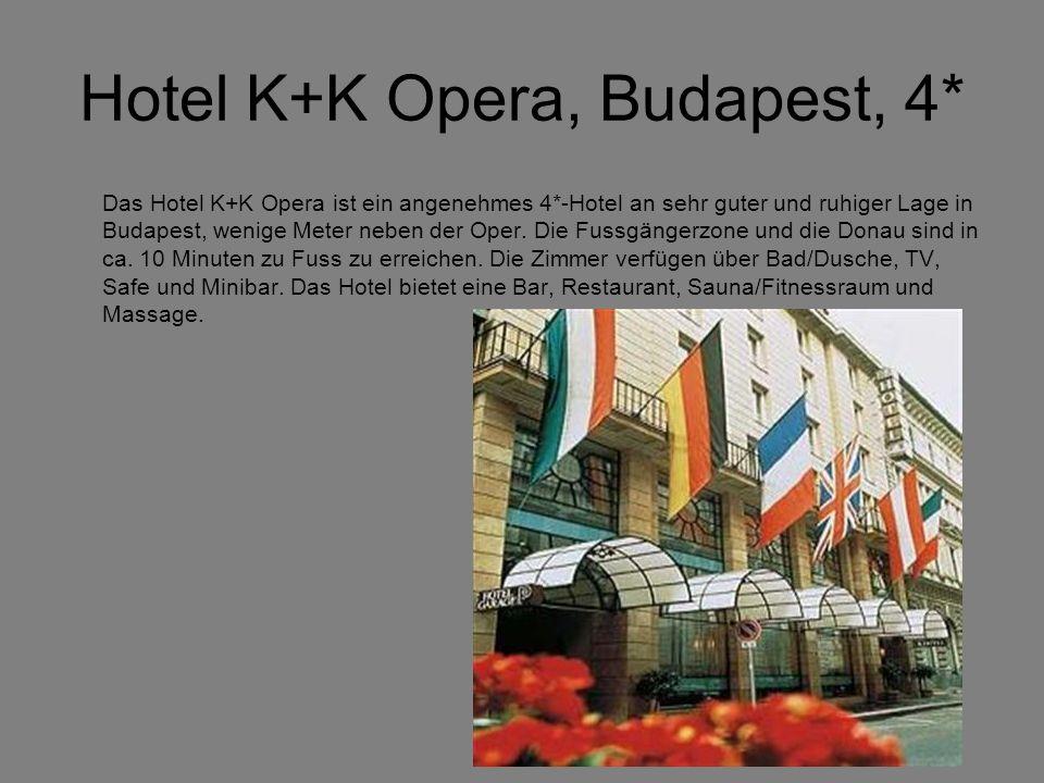 Hotel K+K Opera, Budapest, 4*