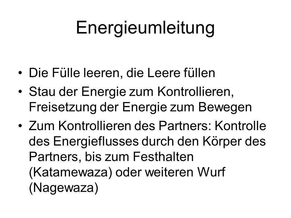 Energieumleitung Die Fülle leeren, die Leere füllen