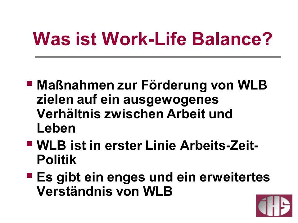 Was ist Work-Life Balance