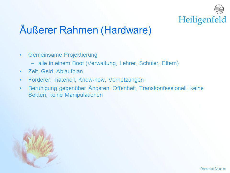 Äußerer Rahmen (Hardware)