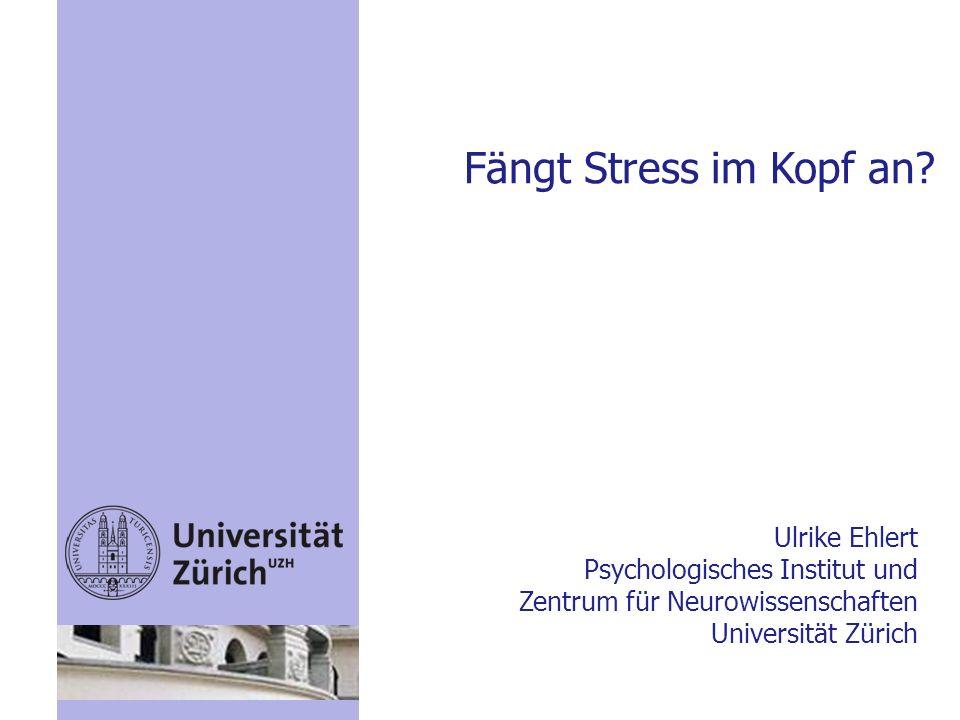 Fängt Stress im Kopf an Ulrike Ehlert