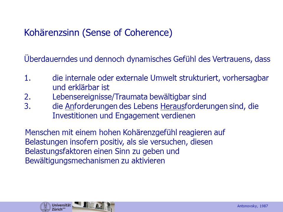 Kohärenzsinn (Sense of Coherence)
