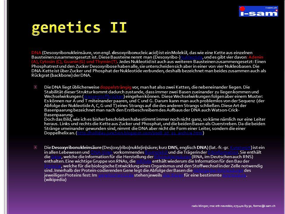 genetics II