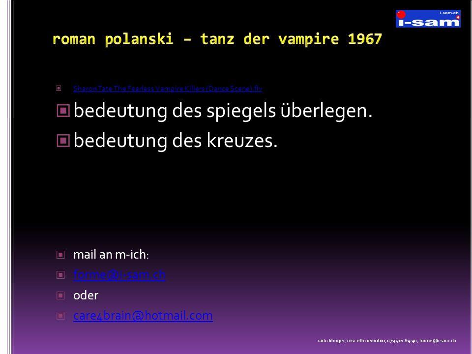 roman polanski – tanz der vampire 1967