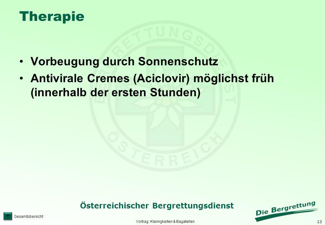Vortrag: Kleinigkeiten & Bagatellen