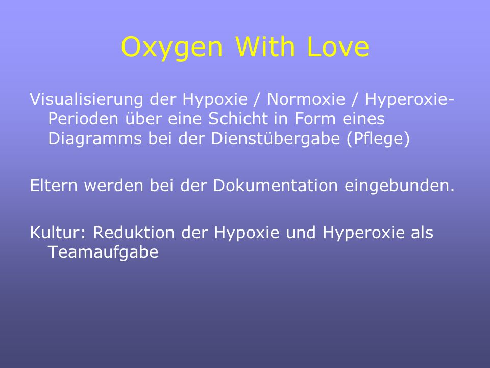 Oxygen With Love