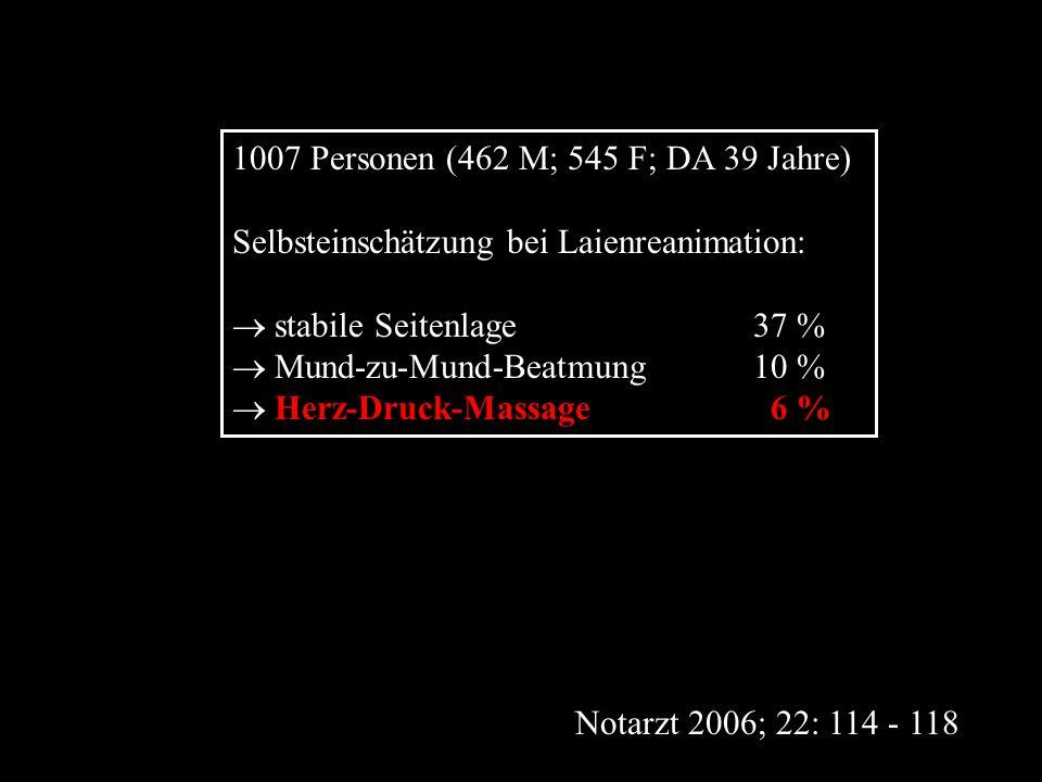 1007 Personen (462 M; 545 F; DA 39 Jahre)
