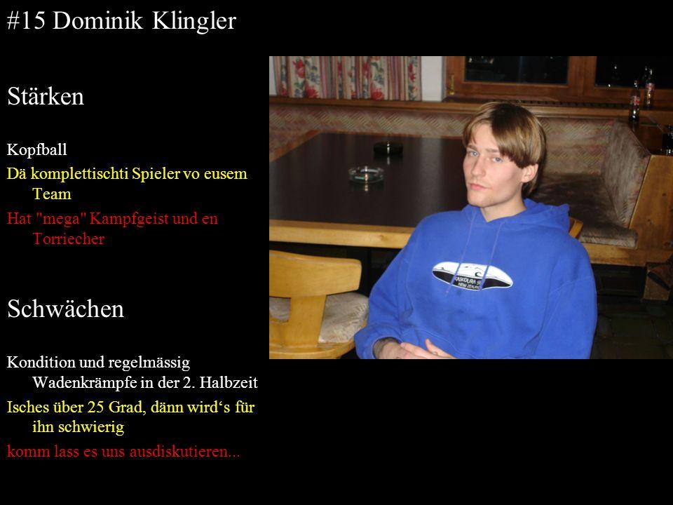 #15 Dominik Klingler Stärken Schwächen Kopfball