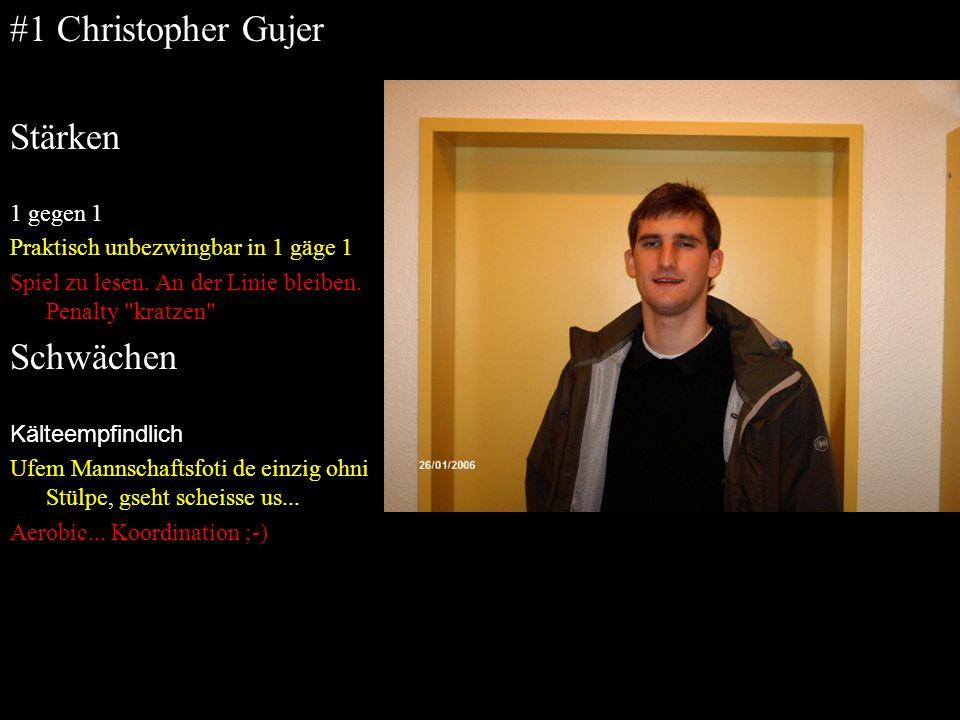 #1 Christopher Gujer Stärken Schwächen 1 gegen 1