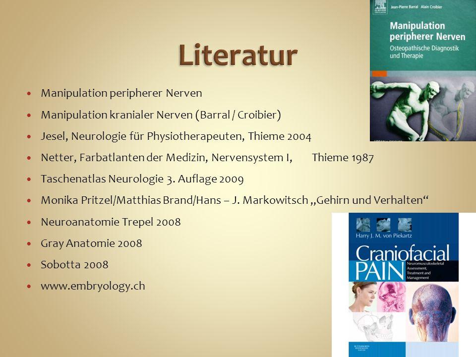 Literatur Manipulation peripherer Nerven