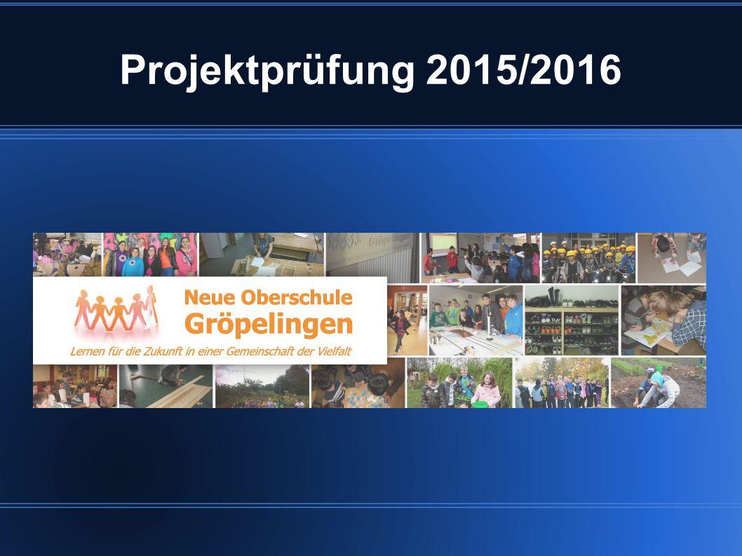 Projektprüfung 2015/2016
