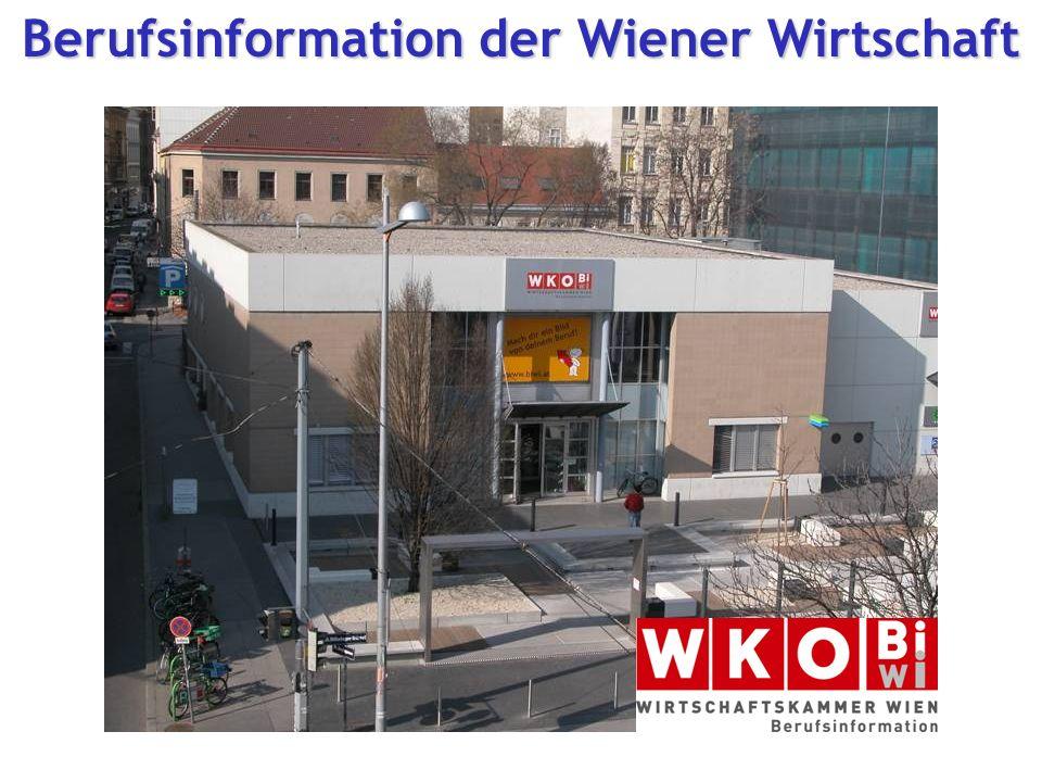 Berufsinformation der Wiener Wirtschaft