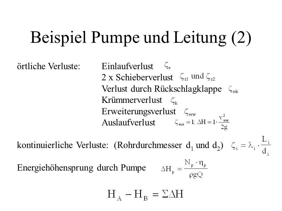 Beispiel Pumpe und Leitung (2)