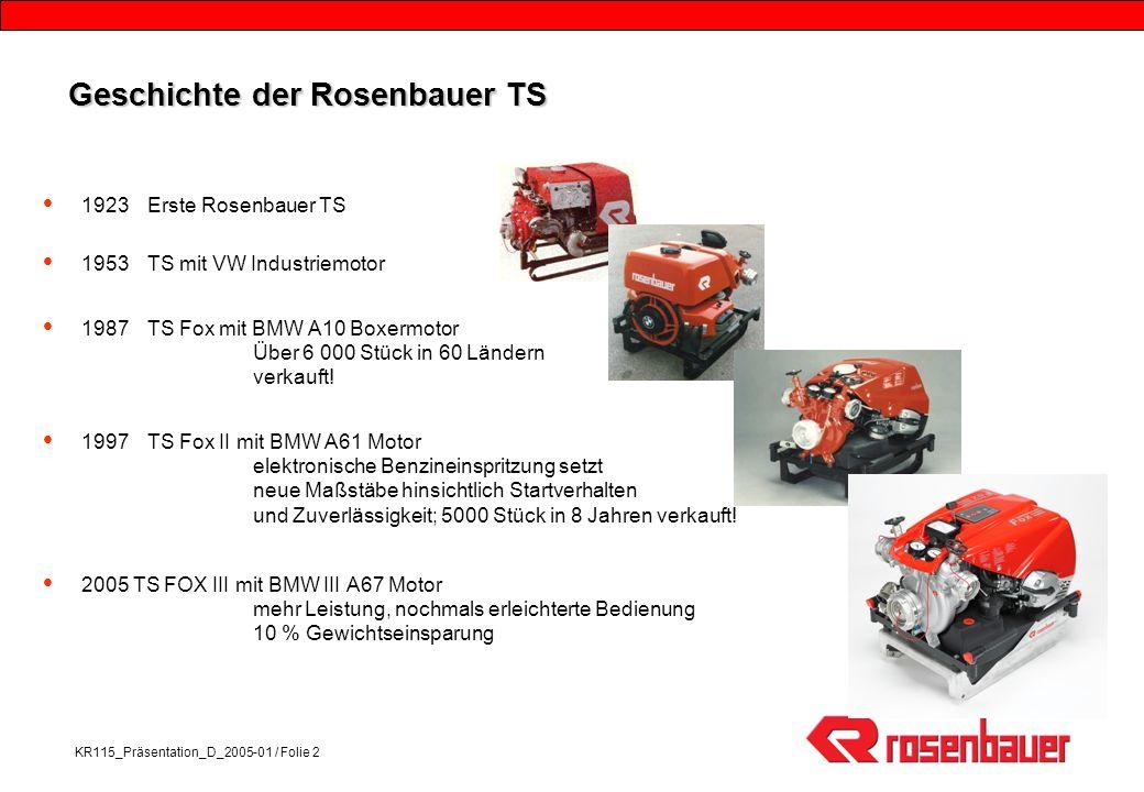 Geschichte der Rosenbauer TS