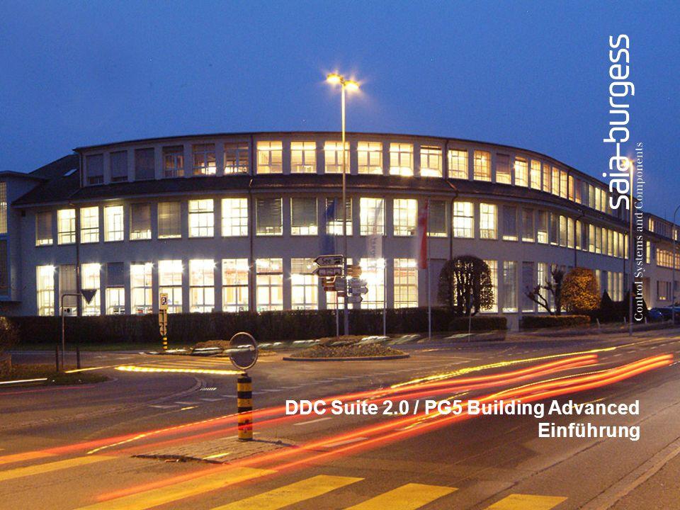DDC Suite 2.0 / PG5 Building Advanced Einführung