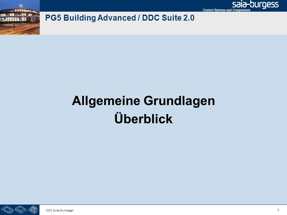 PG5 Building Advanced / DDC Suite 2.0
