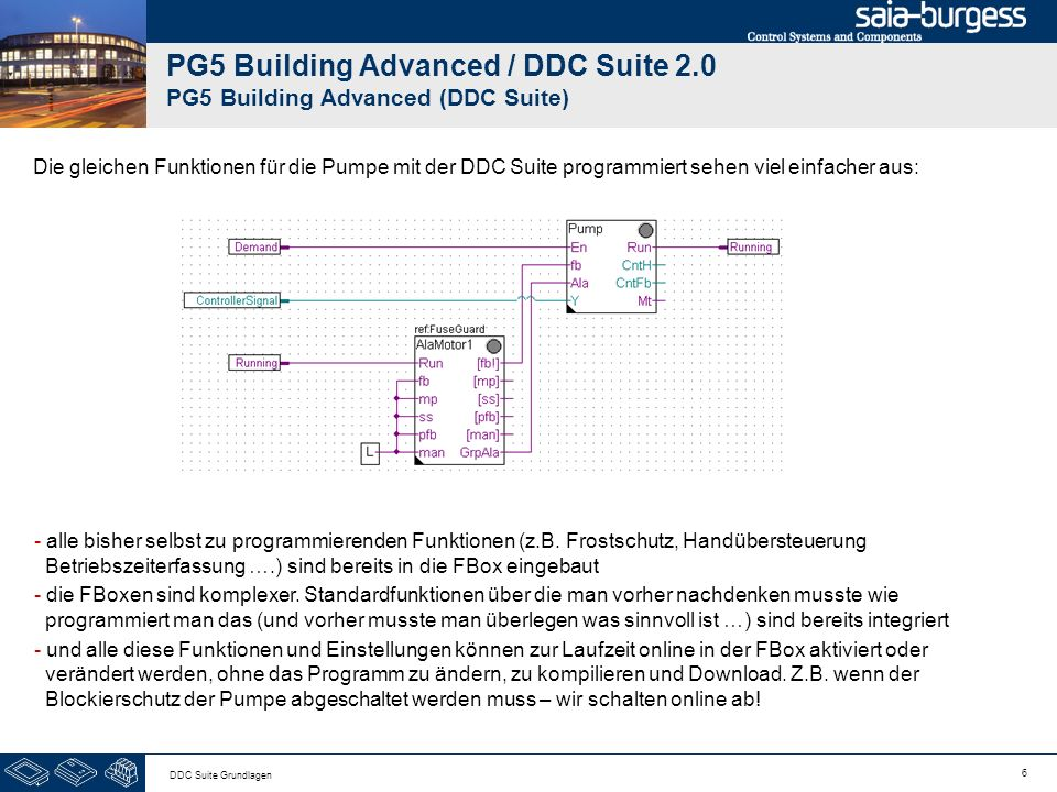 PG5 Building Advanced / DDC Suite 2