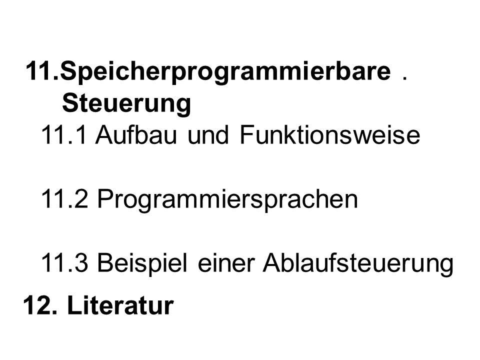 11. Speicherprogrammierbare. Steuerung 11