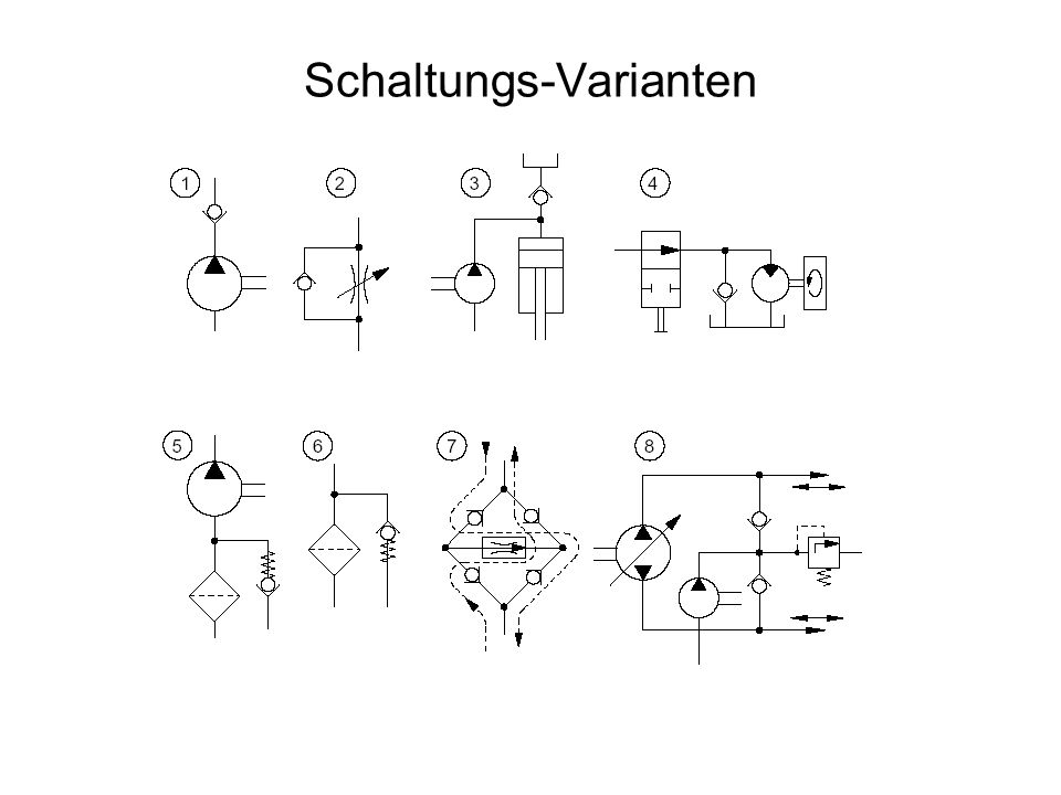 Schaltungs-Varianten