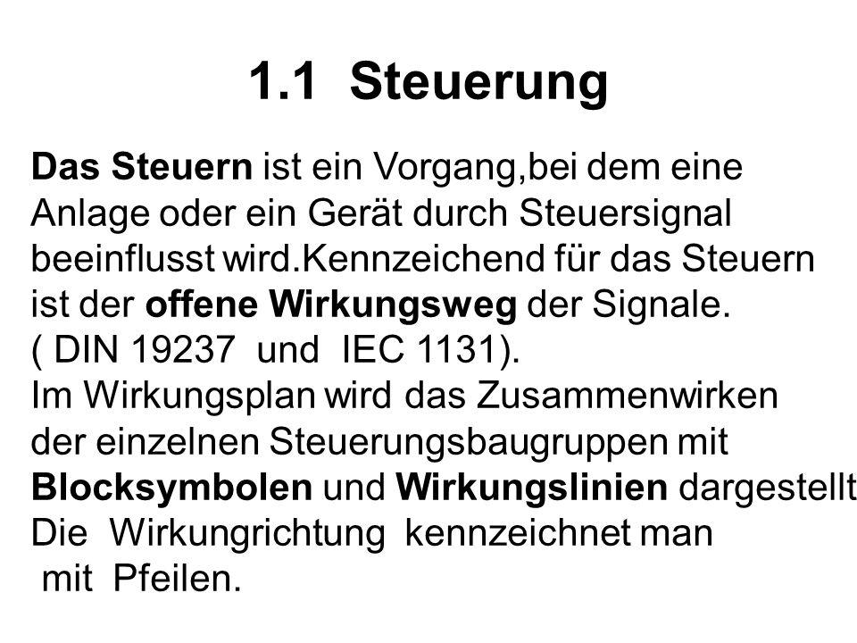 1.1 Steuerung