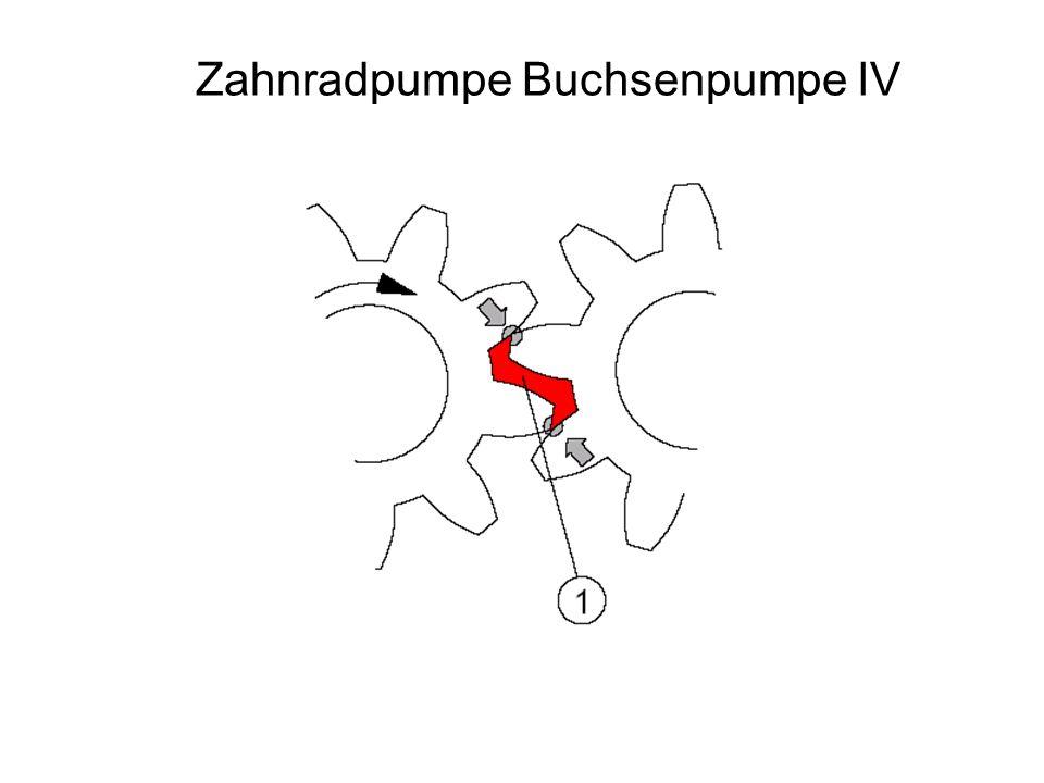 Zahnradpumpe Buchsenpumpe IV