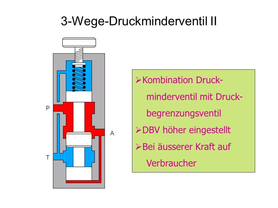 3-Wege-Druckminderventil II