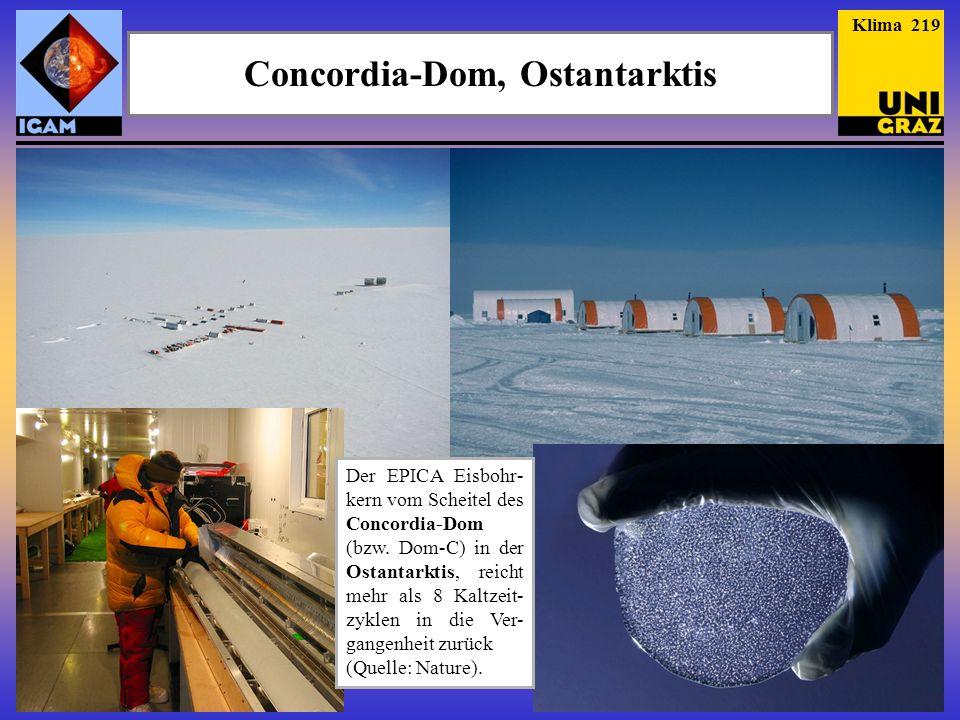 Concordia-Dom, Ostantarktis