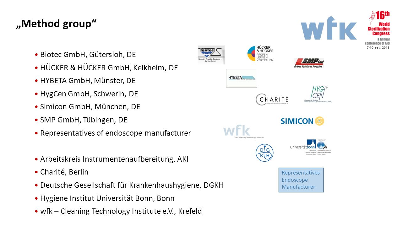 """Method group Biotec GmbH, Gütersloh, DE"