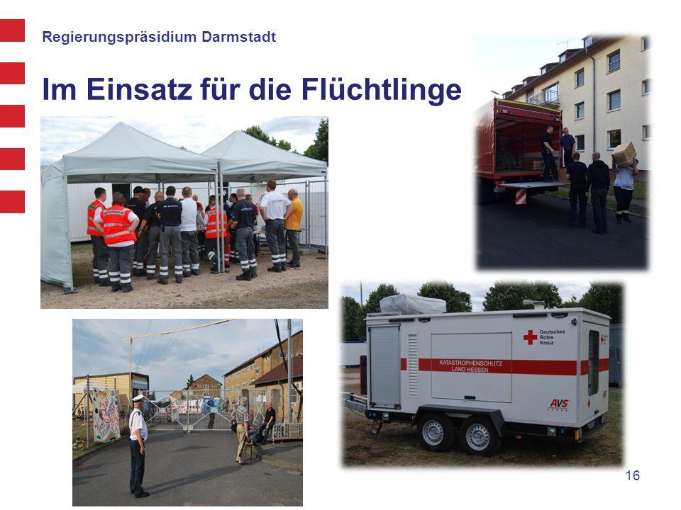 Im Einsatz für die Flüchtlinge